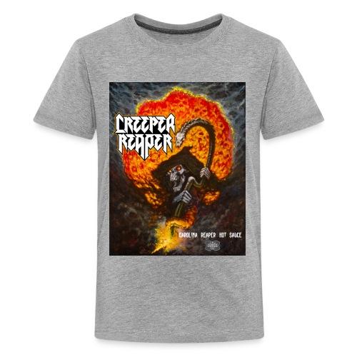 Creeper Reaper Hot Sauce attire - Kids' Premium T-Shirt