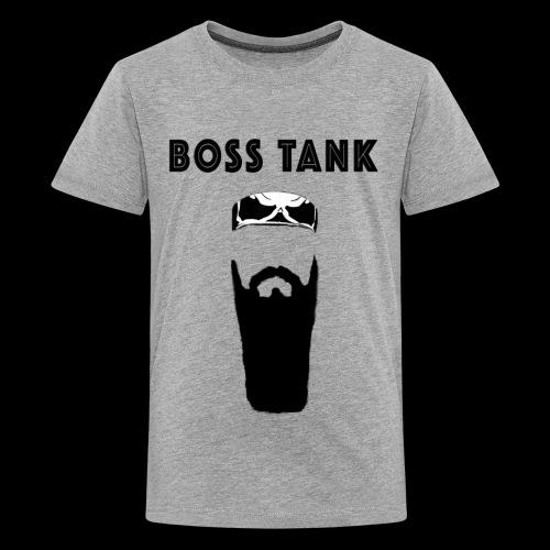 Beard Bandana MERCH - Kids' Premium T-Shirt