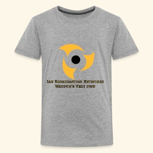 Official Grey Color Apparel Waupun's Very Own IBN - Kids' Premium T-Shirt