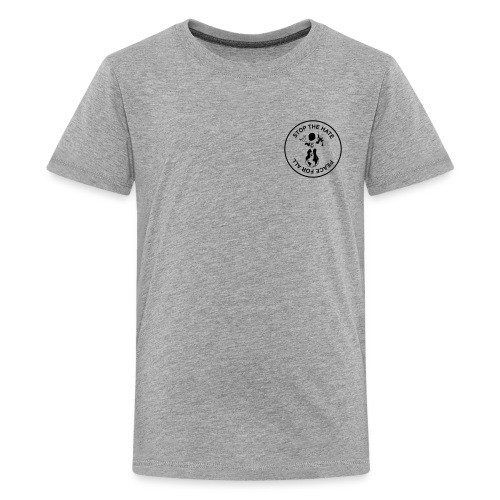 Peace for All by biri - Kids' Premium T-Shirt