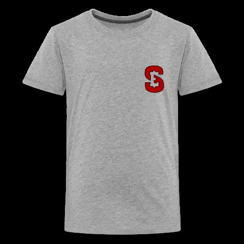 Self Enrichment Logo Red - Kids' Premium T-Shirt