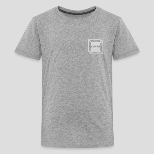 Squared Apparel Logo White / Gray - Kids' Premium T-Shirt