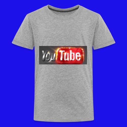 YouTuber shirt - Kids' Premium T-Shirt