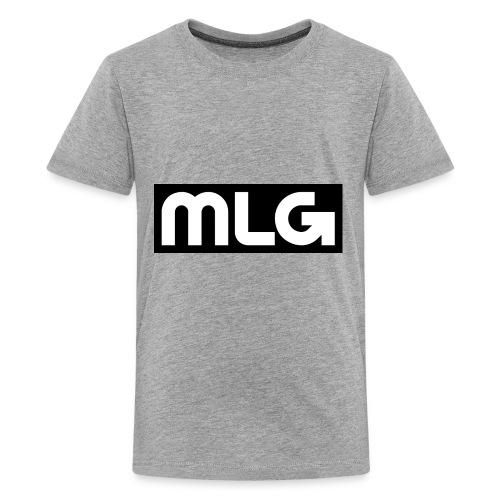 MLG_GOD sweater - Kids' Premium T-Shirt