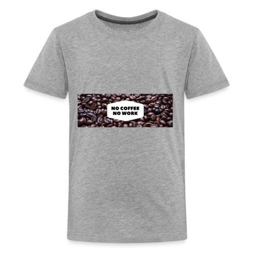Ladies Tee For Coffee Lovers - Kids' Premium T-Shirt