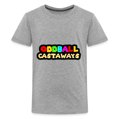 Oddball Castaways logo - Kids' Premium T-Shirt
