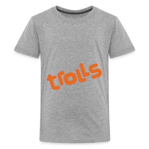Trolls Logo - Kids' Premium T-Shirt