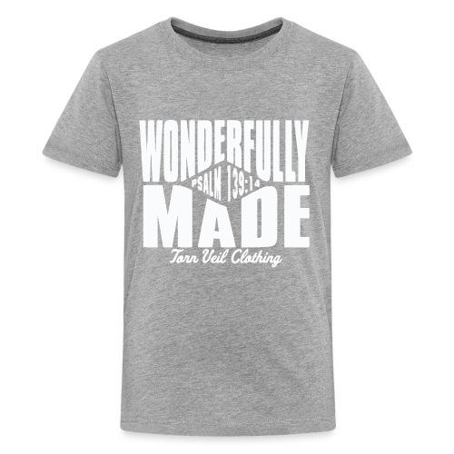 wonderfully made white - Kids' Premium T-Shirt
