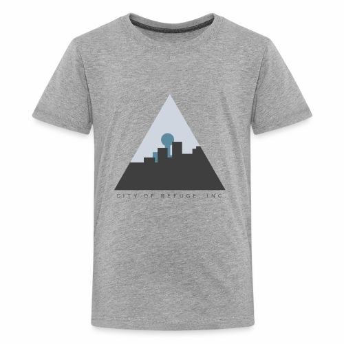 City of Refuge, Inc. Logo - Kids' Premium T-Shirt