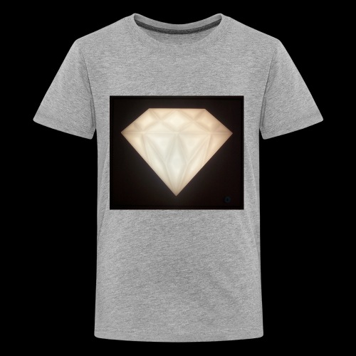 Glowing Diamond - Kids' Premium T-Shirt