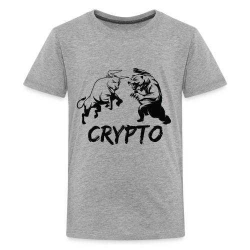 CryptoBattle Black - Kids' Premium T-Shirt