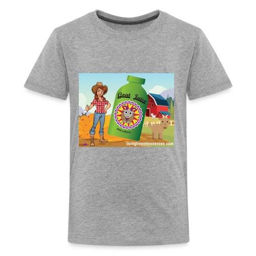 Nicole Sauce's Goat Juice - Kids' Premium T-Shirt