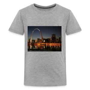 St Louis Arch - Kids' Premium T-Shirt