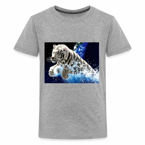 desktop year of the tiger images wallpaper - Kids' Premium T-Shirt