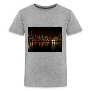 chicago skyline - Kids' Premium T-Shirt