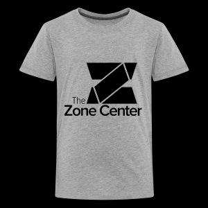 Zone Center T Shirt Logo Black - Kids' Premium T-Shirt