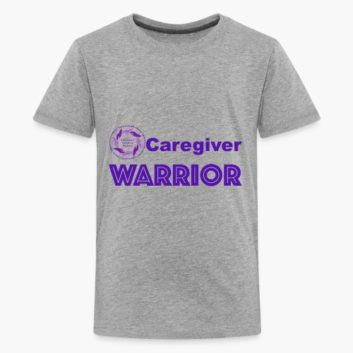 Caregiver Warrior - Kids' Premium T-Shirt