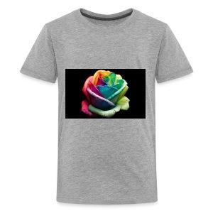 Colorful Rose Wallpapers 1 - Kids' Premium T-Shirt