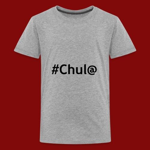 chul@ - Kids' Premium T-Shirt