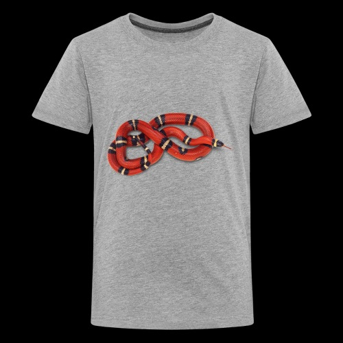 Red Snake - Kids' Premium T-Shirt