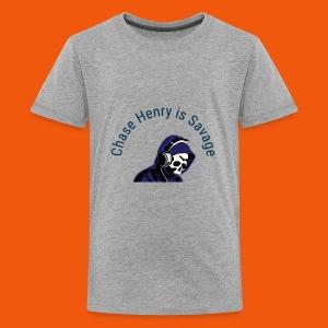 Chase Henry is Savage - Kids' Premium T-Shirt