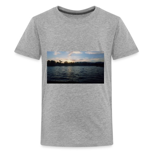 Pink Sunset - Kids' Premium T-Shirt