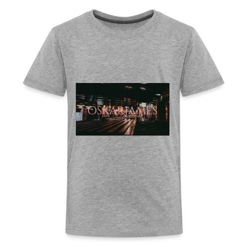 oskar james - Kids' Premium T-Shirt