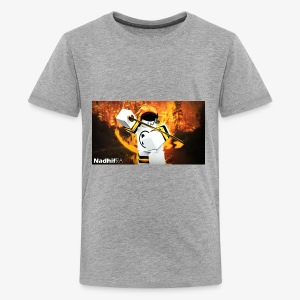 my main channel face - Kids' Premium T-Shirt