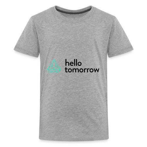 Hello Tomorrow - Kids' Premium T-Shirt