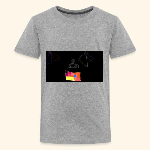 dj tiny face - Kids' Premium T-Shirt