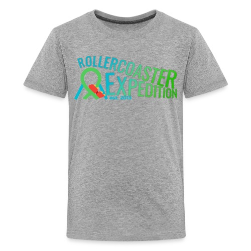 ROLLERCOASTER EXPEDITION - Kids' Premium T-Shirt