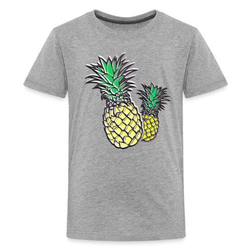Retro Pineapple - Kids' Premium T-Shirt