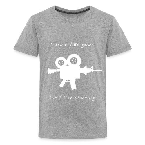 I don't like Guns collection #1 (white) - Kids' Premium T-Shirt