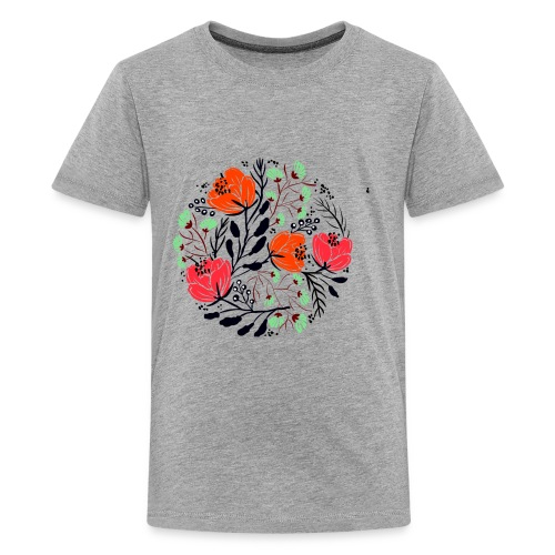 round blossoms - Kids' Premium T-Shirt
