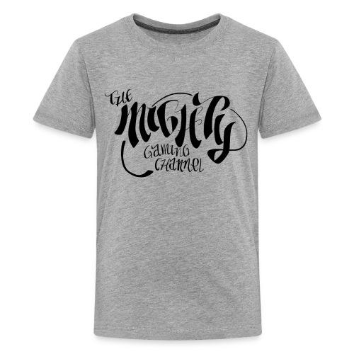 MGC 1 blackonwhite - Kids' Premium T-Shirt