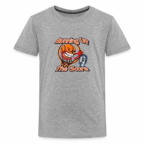 Running Up The Score Basketball Logo - Kids' Premium T-Shirt