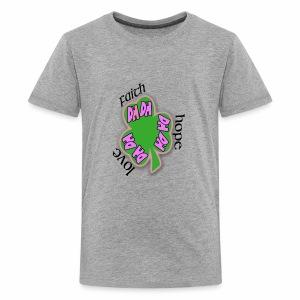FAITH SHAMROCK - Kids' Premium T-Shirt