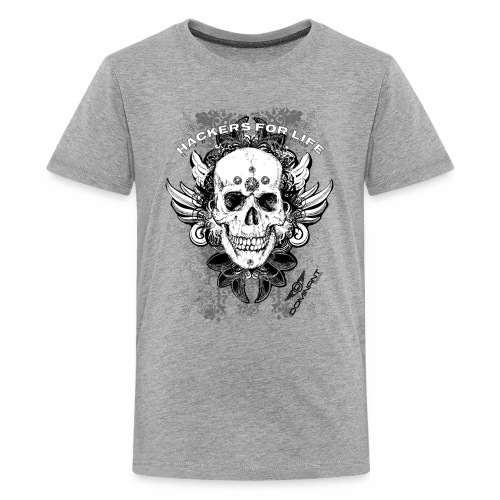 Dominant Gear Hackers for life - Kids' Premium T-Shirt