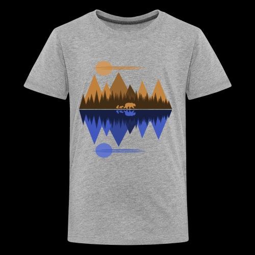 Bear and Cubs #2 - Kids' Premium T-Shirt