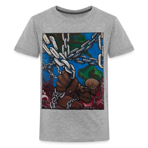 Weight of the World - Kids' Premium T-Shirt