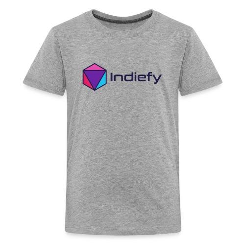 Logo Dark Blue - Kids' Premium T-Shirt