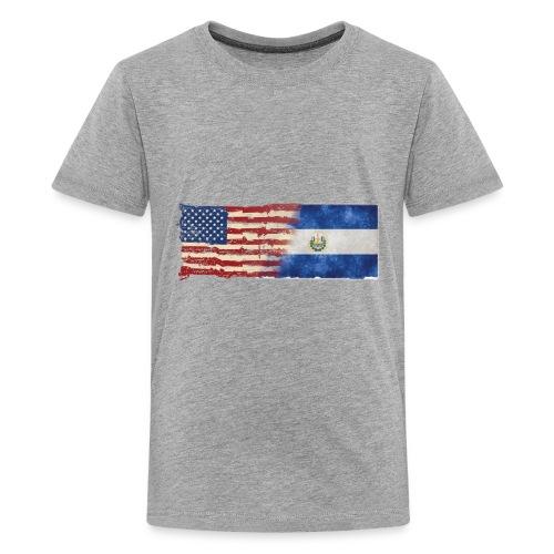 soy un americano salvadoreno - Kids' Premium T-Shirt