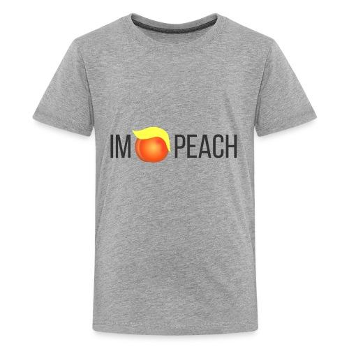 IMPEACH / BLACK - Kids' Premium T-Shirt