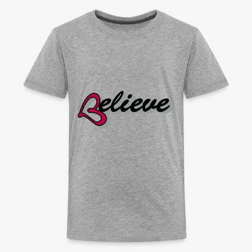 believeheart - Kids' Premium T-Shirt