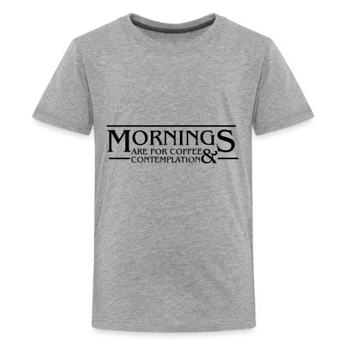 Coffee & Contemplation - Kids' Premium T-Shirt