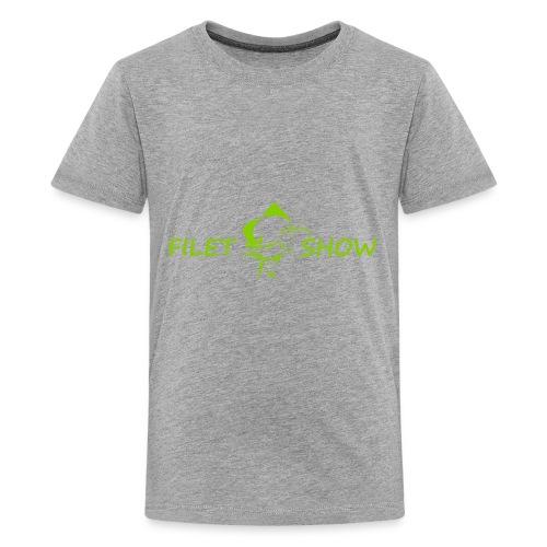 Green_logo_for_shirts - Kids' Premium T-Shirt