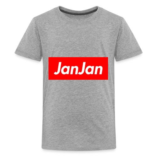 JanJan Supreme Exclusive Logo - Kids' Premium T-Shirt