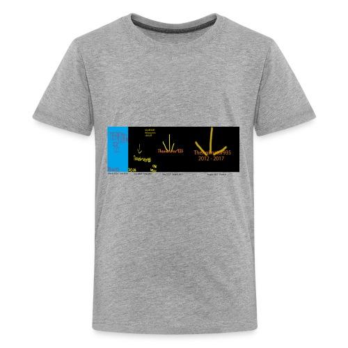 historic Team TA935 logos - Kids' Premium T-Shirt