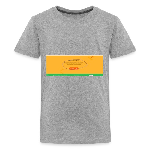 start - Kids' Premium T-Shirt