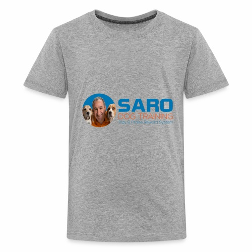 Saro Dog TrainingLogo - Kids' Premium T-Shirt